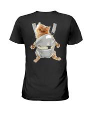 Persian cat carrier backpack 1012 Ladies T-Shirt thumbnail