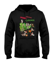 Merry Catmess 1910 Hooded Sweatshirt thumbnail