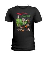 Merry Catmess 1910 Ladies T-Shirt thumbnail