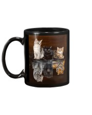 Cat Believe In Yourself Mug back