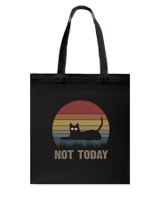 Cat Not Today Tote Bag thumbnail