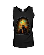 Black Cat Halloween Night Unisex Tank thumbnail