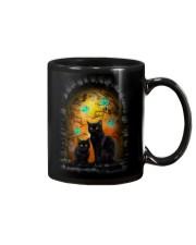 Black Cat Halloween Night Mug thumbnail