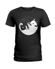 Yin Yang Cat Ladies T-Shirt thumbnail