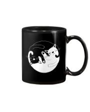 Yin Yang Cat Mug thumbnail