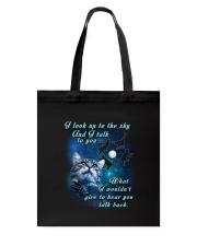 Cat sky Tote Bag thumbnail