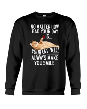 Cat Make Smile 2106 Crewneck Sweatshirt thumbnail