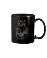 Black cat pocket 1311 Mug thumbnail
