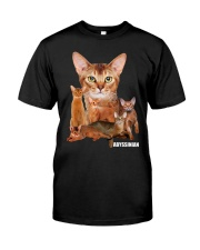 Abyssinian Awesome 1212 Classic T-Shirt front