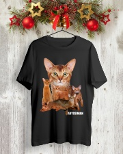 Abyssinian Awesome 1212 Classic T-Shirt lifestyle-holiday-crewneck-front-2