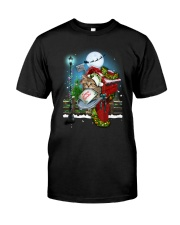 Cat and Santa mail Classic T-Shirt tile