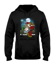 Cat and Santa mail Hooded Sweatshirt tile