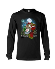 Cat and Santa mail Long Sleeve Tee tile