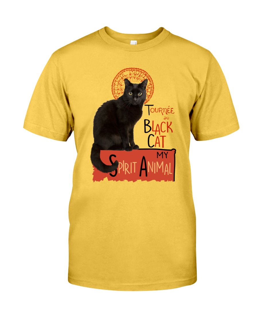 Black cat Tournee Du Classic T-Shirt
