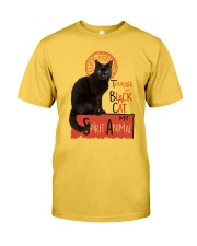 Black cat Tournee Du Classic T-Shirt front