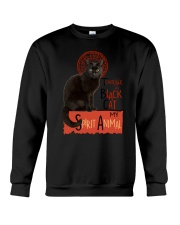 Black cat Tournee Du Crewneck Sweatshirt thumbnail