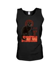 Black cat Tournee Du Unisex Tank thumbnail