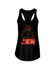 Black cat Tournee Du Ladies Flowy Tank thumbnail