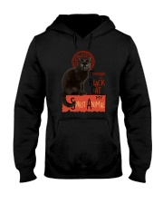Black cat Tournee Du Hooded Sweatshirt thumbnail