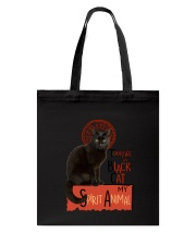 Black cat Tournee Du Tote Bag thumbnail