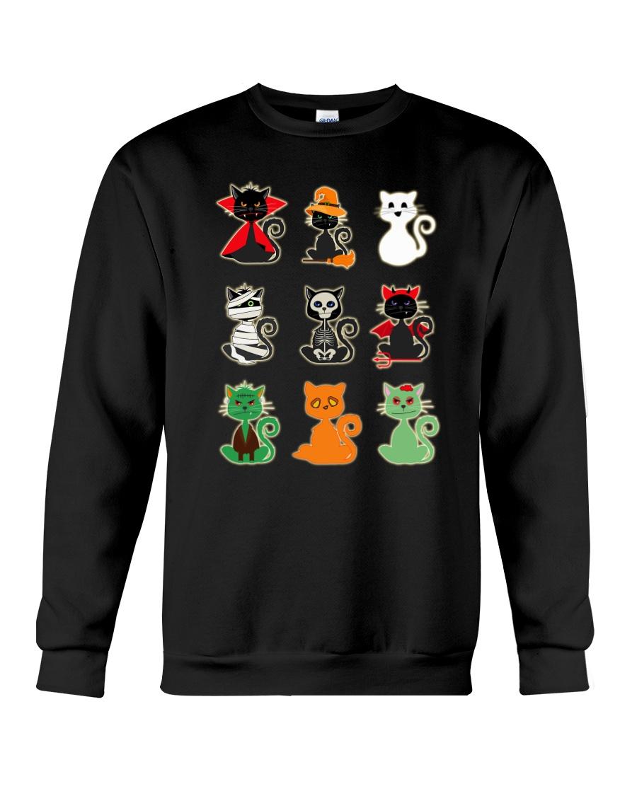 Artemis Cat Halloween Costume 0810 Crewneck Sweatshirt