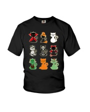 Artemis Cat Halloween Costume 0810 Youth T-Shirt thumbnail