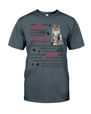 Cat - Maine Coon Luckiest Dad 0612 Classic T-Shirt thumbnail