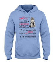 Cat - Maine Coon Luckiest Dad 0612 Hooded Sweatshirt thumbnail