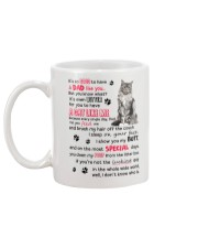 Cat - Maine Coon Luckiest Dad 0612 Mug back