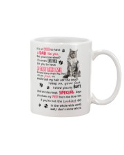 Cat - Maine Coon Luckiest Dad 0612 Mug front