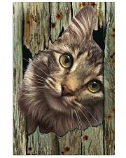Cat On Wood 7119 11x17 Poster front
