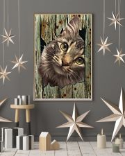 Cat On Wood 7119 11x17 Poster lifestyle-holiday-poster-1