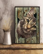 Cat On Wood 7119 11x17 Poster lifestyle-poster-3