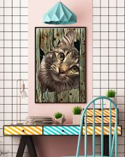 Cat On Wood 7119 11x17 Poster lifestyle-poster-6