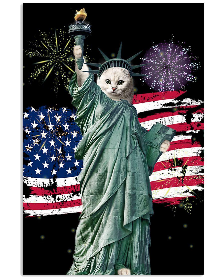 Liberties Version Cat 11x17 Poster