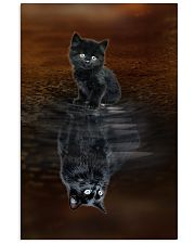 Chantilly Cat Reflection Poster 1112  11x17 Poster front