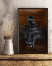 Chantilly Cat Reflection Poster 1112  11x17 Poster lifestyle-poster-3