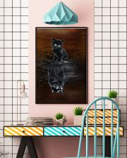 Chantilly Cat Reflection Poster 1112  11x17 Poster lifestyle-poster-6