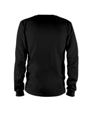 Black Cat And Snowman Costume Long Sleeve Tee back