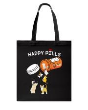 Cat Happy Pills Tote Bag thumbnail