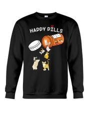 Cat Happy Pills Crewneck Sweatshirt thumbnail