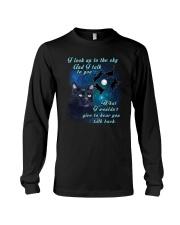 Black cat sky Long Sleeve Tee thumbnail