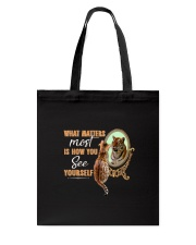 Cat How You See Yourself 2609 Tote Bag thumbnail