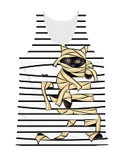 Cat mummy 2008 All-Over Unisex Tank tile