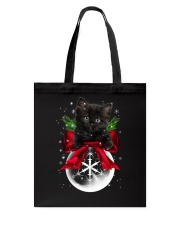 Black Cat Noel  Tote Bag thumbnail
