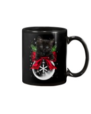 Black Cat Noel  Mug thumbnail