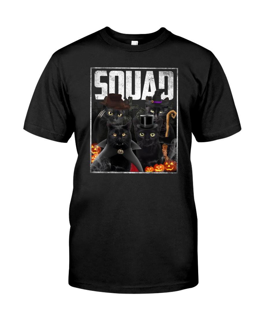 Cool Black cat Classic T-Shirt