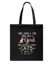 Cat - Once upon a time Tote Bag thumbnail