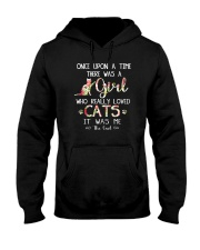 Cat - Once upon a time Hooded Sweatshirt thumbnail