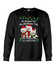 Persian Cat Ornaments Tree 2210  Crewneck Sweatshirt thumbnail